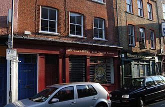 Hanbury Street - South side of Hanbury Street, showing nos. 28 and 30