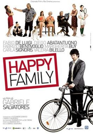 Happy Family (2010 film) - DVD cover