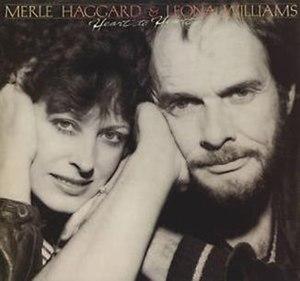 Heart to Heart (Merle Haggard album) - Image: Hearttoheartmerlehag gard