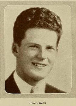 Horace Hahn senior class photo 1933.jpg