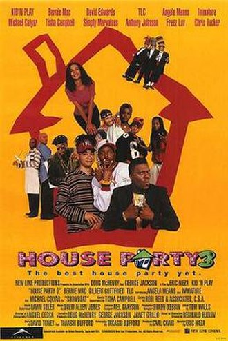 House Party 3 - Theatrical release poster