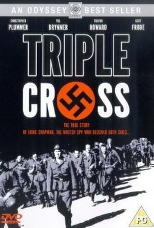 Triple Cross (1966 film) - DVD cover