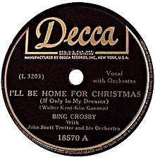 A Home For Christmas.I Ll Be Home For Christmas Wikipedia