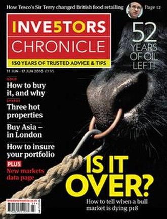 Investors Chronicle - Image: Investors Chronicle (magazine cover)
