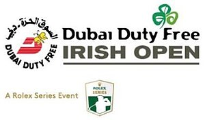 Irish Open (golf) - Image: Irish Open Logo 2014