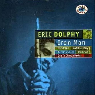 Iron Man (Eric Dolphy album) - Image: Iron Man Eric Dolphy Jazz World
