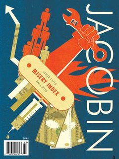 <i>Jacobin</i> (magazine) American socialist magazine