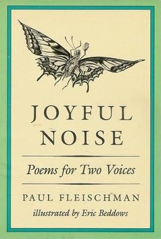 Joyful Noise: Poems for Two Voices - Joyful Noise book cover