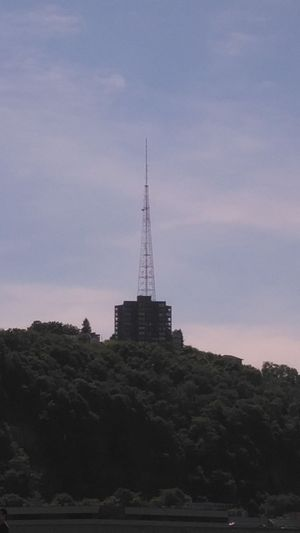 KDKA-FM - KDKA-FM's Tower on top of Mount Washington