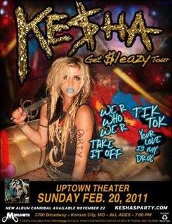 Get Sleazy Tour