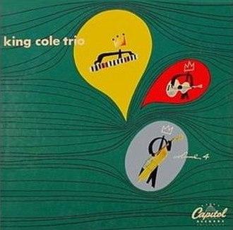 The King Cole Trio (album) - Image: King Cole Trio Vol 4