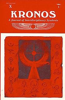 <i>Kronos: A Journal of Interdisciplinary Synthesis</i>