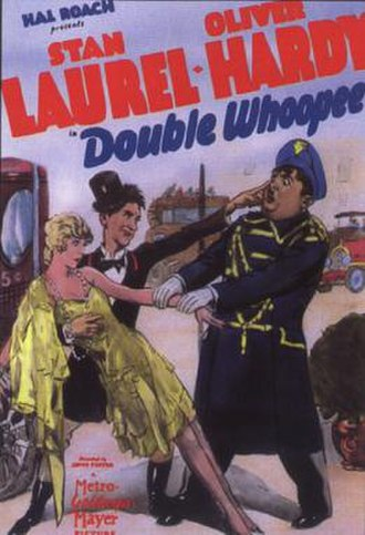 Double Whoopee - Theatrical release poster