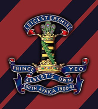Leicestershire Yeomanry - Cap badge of The Leicestershire Yeomanry (P.A.O)