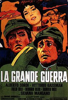 <i>The Great War</i> (1959 film) 1959 film by Mario Monicelli