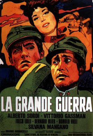 The Great War (1959 film) - Italian film poster