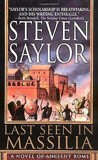 <i>Last Seen in Massilia</i> book by Steven Saylor
