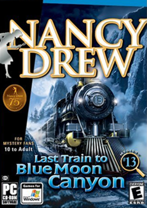 Nancy Drew: Last Train to Blue Moon Canyon - Image: Last Train to Blue Moon Canyon Coverart