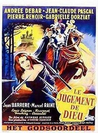 Judgement of God - Movie poster