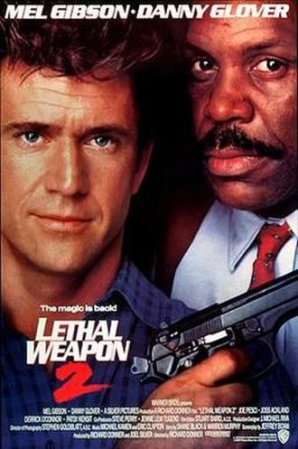 Lethal Weapon 2 - Theatrical release poster