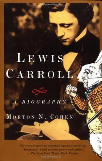 Lewis Carroll: A Biography - The cover of the Knopf edition