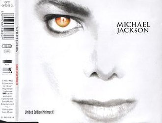 Michael Jackson's Ghosts - Image: Limited Edition Minimax CD