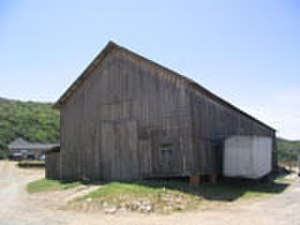 Swanton Pacific Ranch - Barn, Built in 1880