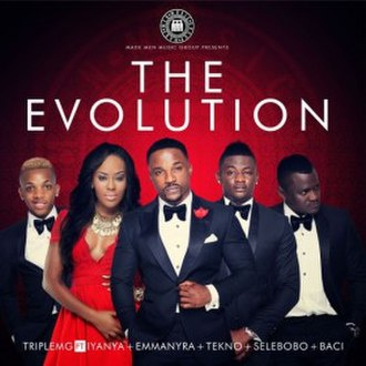 The Evolution (Made Men Music Group album) - Image: MMMG The Evolution album cover