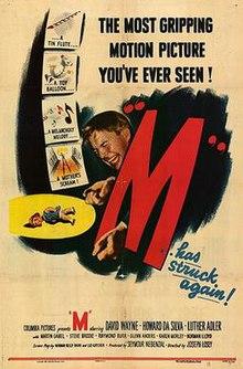 08924f56bc07 M (1951 film) - Wikipedia