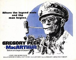MacArthur (film) - Theatrical release poster