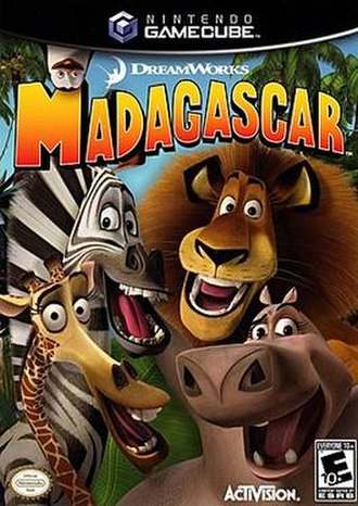 Madagascar (video game) - Image: Madagascar front