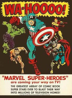 Marvel Super Heroes Ad