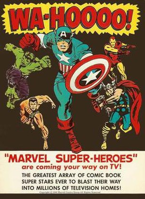 The Marvel Super Heroes - Print advertisement for the show