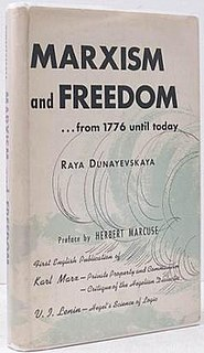 <i>Marxism and Freedom: From 1776 Until Today</i>