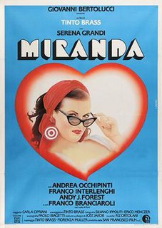 <i>Miranda</i> (1985 film) 1985 film by Tinto Brass