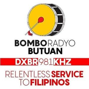 DXBR - Logo of Bombo Butuan (1995-present)