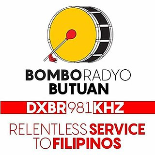 DXBR Radio station in the Philippines