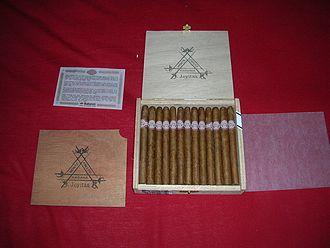 Montecristo (cigar) - A box of Cuban Montecristo Joyitas