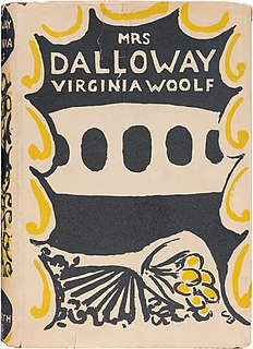 <i>Mrs Dalloway</i> 1925 novel by Virginia Woolf
