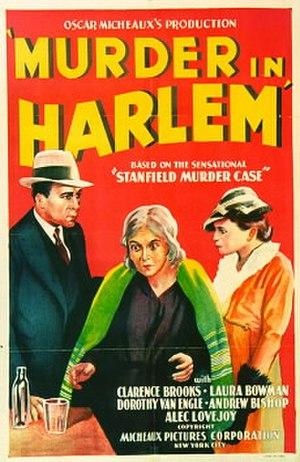 Murder in Harlem - Image: Murder in Harlem (1935 film)