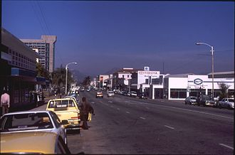 Mutare - Main Street looking southwards, 1997