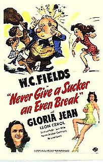 <i>Never Give a Sucker an Even Break</i> 1941 film by Edward F. Cline