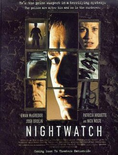 <i>Nightwatch</i> (1997 film) 1997 American horror-thriller film directed by Ole Bornedal