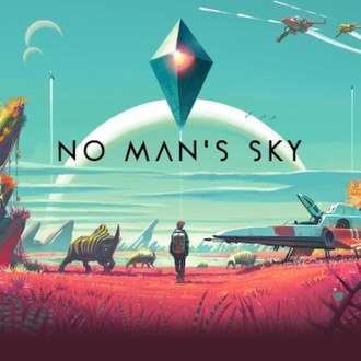 No Man's Sky - The cover art for No Man's Sky, showcasing the Atlas at the top centre