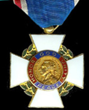 Order of Lafayette - Insignia of the Order of Lafayette.