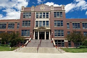 Minot State University - Old Main acts as the centerpiece for Minot State's main campus