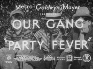 <i>Party Fever</i> 1928 film by George Sidney