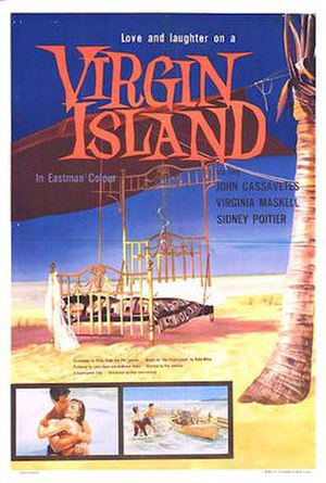 Virgin Island (film) - 1959 theatrical poster