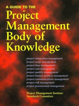 Project Management Body of Knowledge - Image: PMBOK