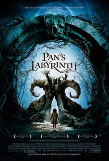 <i>Pans Labyrinth</i> 2006 fantasy war drama on the early years of the Spanish-Franco dictatorship directed by Guillermo del Toro